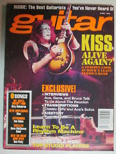 GUITAR MAGAZINE APRIL 1996 KISS INTERVIEWS TRANSCRIPTIONS KISSTORY REUNION TALK