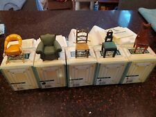 Take A seat Willitts Collectible Mini Chairs - set of 5 mint in box #2