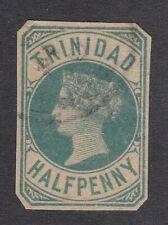 Trinidad 1/2d Victoria Postal Stationary Cut Out CDS VGC