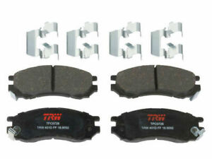 Front TRW Premium Ceramic Brake Pad Set fits Saturn SL1 1991-2002 77WBRQ