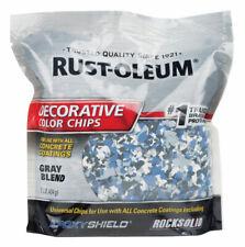 Rust-Oleum  Gray Blend  Decorative Color Chips  1 lb.