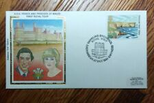 WALES FDC COVER 1981 PRINCE AND PRINCESS DIANA OF WALES COLORANO CACHET