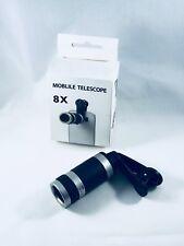 Universal Camera Lens Kit, 8X Optical Zoom Universal High Definition