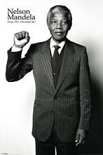 Nelson Mandela NEW 24x36 poster Africa Civil Rights Revolution Equality Liberty
