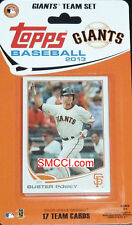 2013 Topps San Francisco Giants Factory Sealed Team Set  Lincecum Buster Posey