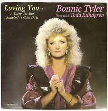 TYLER Bonnie & Todd RUNDGREN Disco 45T AMAR USTED HA DIRTY TRABAJO GOL F