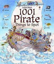 Usborne 1001 Pirate Things to Spot Sticker Book c2014 NEW PB 240+ Stickers