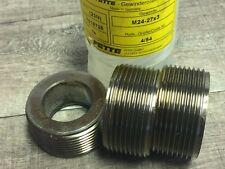 New Fette Thread Roller Dies M24 M27 X 30 Mm