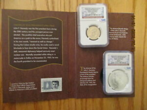 US Mint 2015 John Kennedy Coin & Chronicles Set Item # AX3 NGC Graded Set