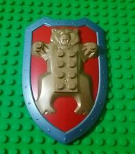 Lego Large Bear Insignia Picture Frame for Castle Buildings Kindoms - 1 piece