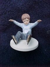 Ice Capades by Roman, figurine from 1983, Little boy .New In Box