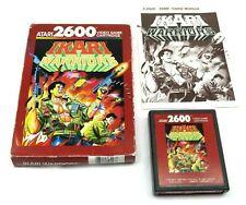 Ikari Warriors (Atari 2600, 1989) By Atari (Box, Cartridge & Manual) NTSC