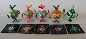Vintage Tim Biskup's 5 Totem Pals with inserts and cartons! Vanimal Zoo! 2003