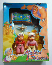 Disney Aladdin & Princess Figurine - 5 Piece Play Set - New