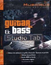 Musicalis Guitar & Bass Studio Tab- Logiciel Editeur Tablatures