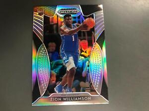 Zion Williamson 2019/20 Prizm Draft Silver Pulsars RC #64 Pelicans Duke A19