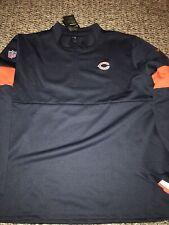 Mens Nike 2019 On Field Chicago Bears 1/4 Zip Coach Sideline Jacket Size 2XL