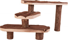 Trixie Bark Wood Stairs For Guinea Pig & Rabbit Pet Cages & Runs