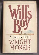 WILL'S BOY by Wright Morris 1981 SIGNED HC DJ VG+