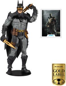 DC MULTIVERSE TOD MCFARLANE BATMAN GOLD LABEL 18CM ACTION FIGURE
