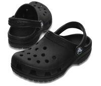 Crocs Classic Clog 204536 001 Kids Toddlers Children Black Size J1 Brand New