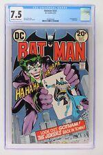 Batman #251 - DC 1973 CGC 7.5 Joker Appearance. Classic cover.