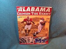 Alabama Middle Tennessee Football Program Poster ONLY Legion Field Game n 2002