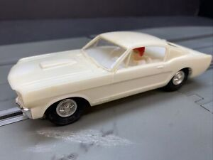 Vintage Eldon 1966 Ford Mustang GT 350  1/32 Scale slot car