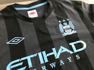 Man City Mcfc Adult Third Footy Top Shirt Umbro Etihad 40 Med