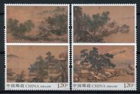 China 2018 MNH Landscapes Four Seasons Liu Songnian 4v Set Art Stamps