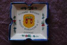 Cendrier Cognac Bisquit Ducbouché & Cie, Faïencerie d'art d'Angoulême