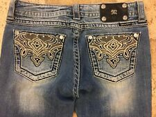 Miss Me Embellished Boot Cut Jeans Size 30