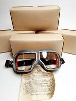 Authentic Soviet USSR Russian tank pilot glasses Aviator WW2 glasses