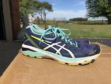 ASICS Womens Gt-1000 6 Blue Running Shoes Size 11.5