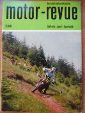 Tschechoslowakische MOTOR REVUE  5 - 1968 (1) JAWA Californian Skoda Tatra 813