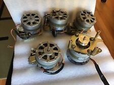 Teac A-2300 Series Reel to Reel Machine Lot Of Reel Motors + Capstan Motor
