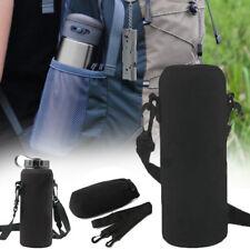 600ML Neoprene Water Bottle Shoulder Carrier Insulated Cover Bag Holder Strap