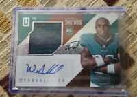 Wendell Smallwood 2016 Unparalleled Rookie GU Signature Relic Auto RC /199