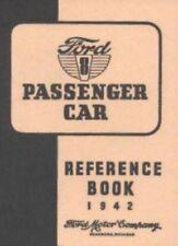 FORD 1942 De Luxe & Super De Luxe Car Owner's Manual 42
