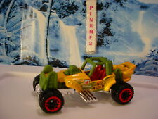 2018 JUNGLE RALLY Design MOUNTAIN MAULER☆Yellow;green;red BLOR☆LOOSE Hot Wheels☆