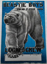 * Beastie Boys * - Local Crew - Satin Backstage Pass - 1995 - Ultra Rare - Foil