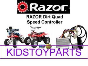 VARIABLE SPEED RAZOR DIRT QUAD RUNNER ESC & THROTTLE (SPEED CONTROLLER KIT)