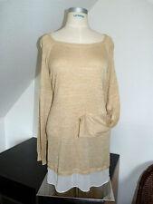 NEU !! Tolle Winter Pullover mit Chiffonsaum Marke C&A, 2-in-1-Optik , Gr. 52 54