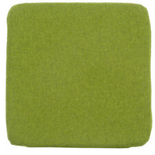 Stuhlkissen Filzo Filzstoff grün Meliert 38x38x3cm