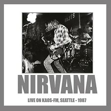 Nirvana - Live On KAOS-FM, Seattle 1987 (180g 1LP Vinyle) INTRLP0004