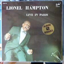 LIONEL HAMPTON 2XLP LIVE IN PARIS FRANCE VG++/VG++