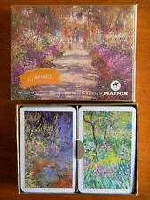 Monet Gallery Giverny Piatnik Playing Card double deck standard bridge sz Austri