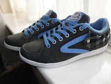 Dunlop Grigio Azzurro Ragazzi/Ragazze UK 5 EUR 38 Scarpe Da Ginnastica Da Skate Tennis