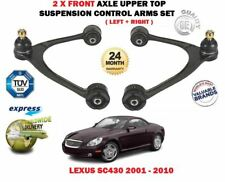 FOR LEXUS SC430 4.3 2001-> 2X FRONT TOP LEFT RIGHT UPPER WISHBONE SUSPENSION ARM