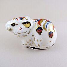 Royal Crown Derby Porcelain Paperweight Bank Vole Collectors Guild
